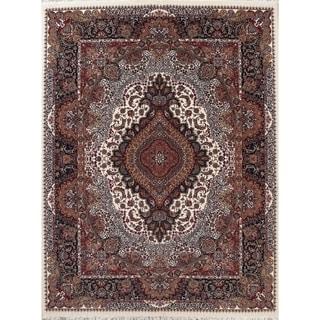 "Copper Grove Hanko Heat-set Oriental Wool/ Acrylic Area Rug - 13'3"" x 9'10"""