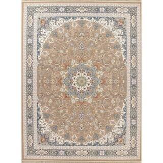 "Gracewood Hollow Izdryk Floral Wool Blend Area Rug - 13'3"" x 9'10"""