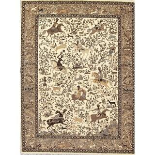 "Copper Grove Haapsalu Animal Pictorial Turkish Area Rug - 13'4"" x 9'9"""