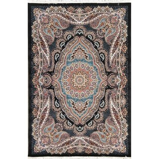 "Copper Grove Rodekro Wool Acrylic Floral Heat-set Turkish Oriental Area Rug - 7'0"" x 5'4"""
