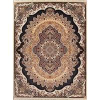"Gracewood Hollow Halan Floral Medallion Wool Blend Area Rug - 13'3"" x 9'10"""