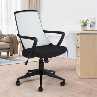 Porch & Den Austin Black Mesh Ergonomic Office Chair