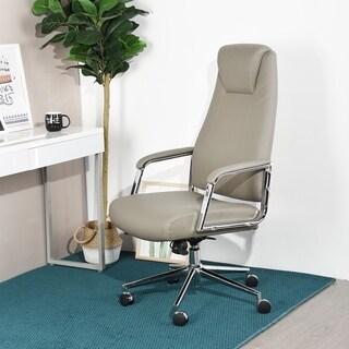 Porch & Den Adele Brown Executive High-back Office Chair