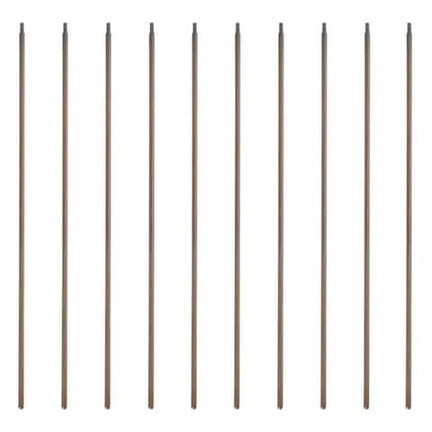 ALEKO Stair Bronze Baluster Simple Square Design 44 Inch Pack of 10