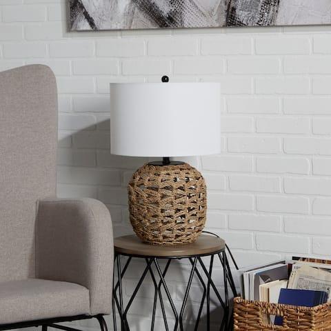 Geoffrey Weave Table Lamp