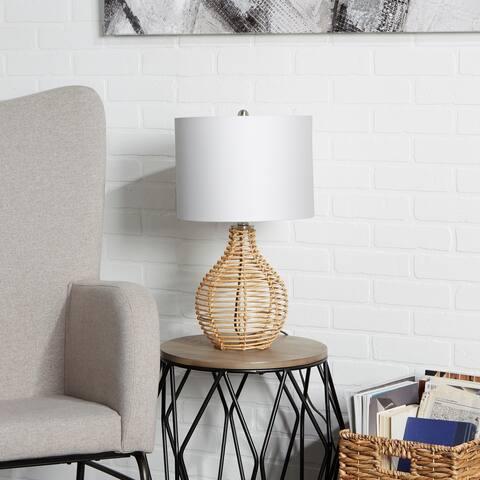 Bryce Rattan Table Lamp