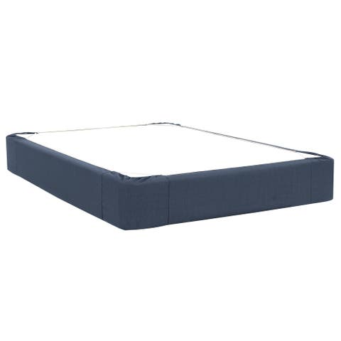 Sterling Indigo Queen Boxspring Covers