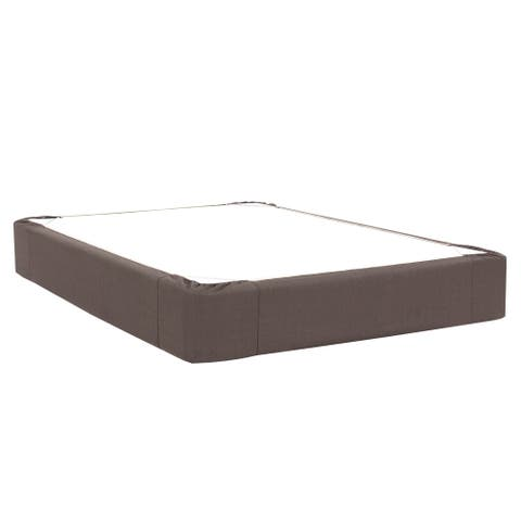 Sterling Charcoal King Boxspring Cover