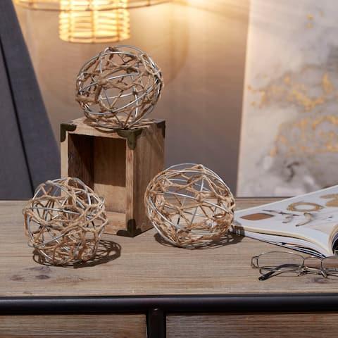 Decorative Balls Nautical Coastal Home Decor