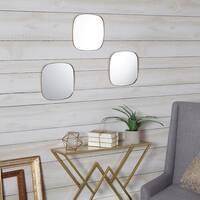 Dorado Rounded Mirrors (Set of 3) - Gold
