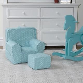 Porch & Den Alderwood Chair and Ottoman Set