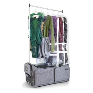 "Costume Rack Duffel - Wheeled 28"" Collapsible Bag"