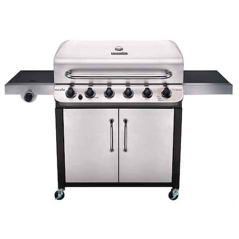 Char-Broil Performance Series 6-Burner Gas Grill - Black/Silver