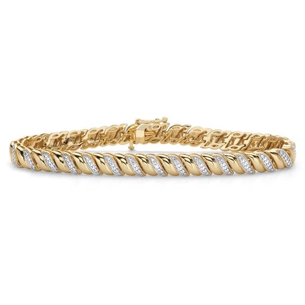 14K Gold Bangle 7,25 Wrist Size Bangle