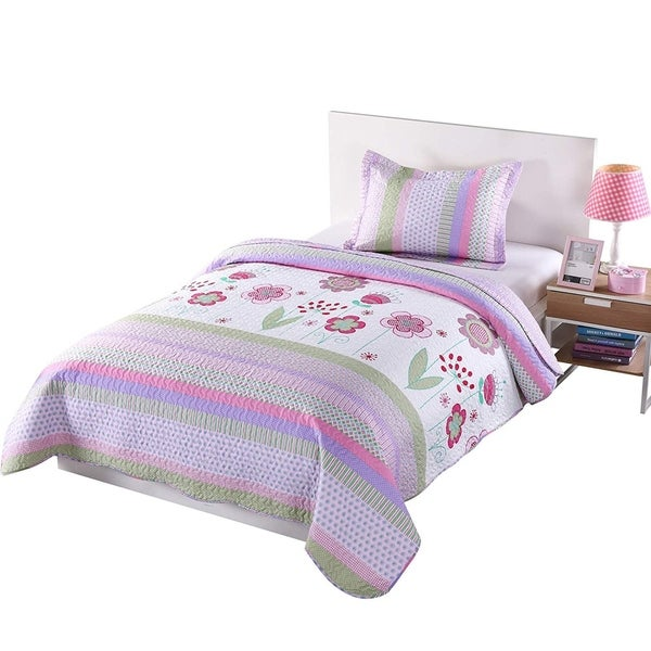 Porch & Den Lela Floral Comforter Set. Opens flyout.