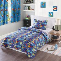 MarCielo Kids Bedspread Quilts Set Throw Blanket for Teens Boys Girls Bed Printed Bedding Coverlet 057 Dinosaur