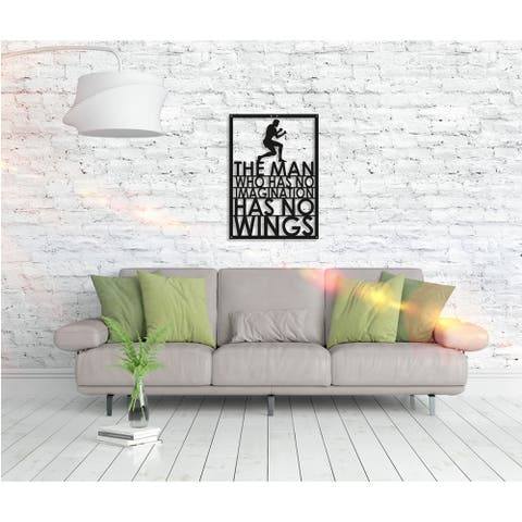 Muhammad Ali Metal Poster - Motivational Wall Art Home Décor - 28 x 20