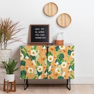 Deny Designs Summer Desire Credenza (Birch or Walnut, 2 Leg Options)
