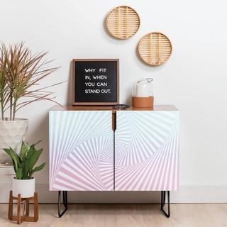 Link to Deny Designs Beach Twista Credenza (Birch or Walnut, 2 Leg Options) Similar Items in Dining Room & Bar Furniture