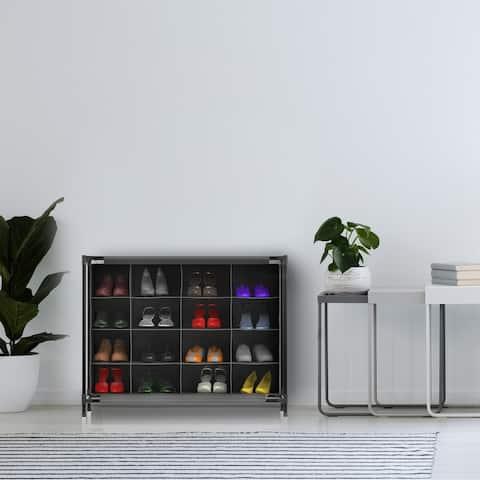 Lavish Home 16-cubby Shoe Organizer