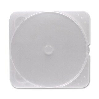 Verbatim CD/DVD Clear TRIMpak Cases - 200pk (bulk)