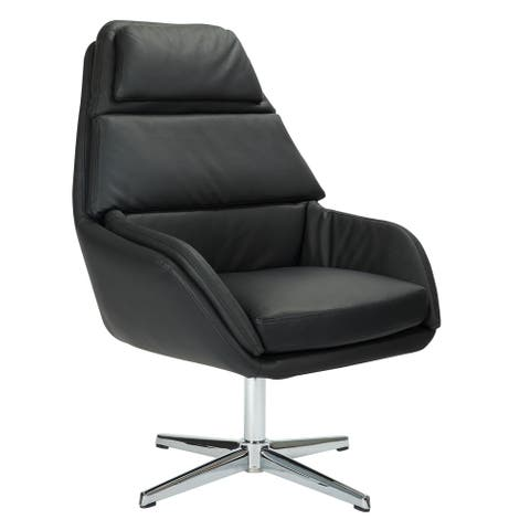 Lauren Swivel Chair with Faux Leather