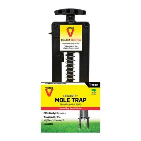 Victor Deadset Medium Plunger Animal Trap For Moles 1 each