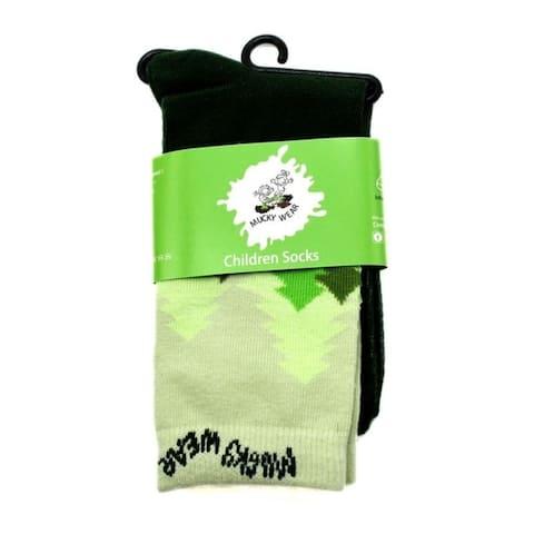 Mucky Wear Children's Fashion Cotton Crew Socks
