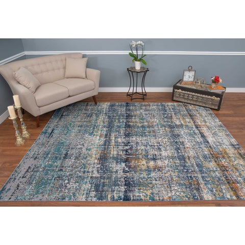 Noori Rug High-low Westfield Blue/Ivory Rug