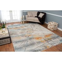 Noori Rug Low-Pile Webster Ivory/Rust Rug