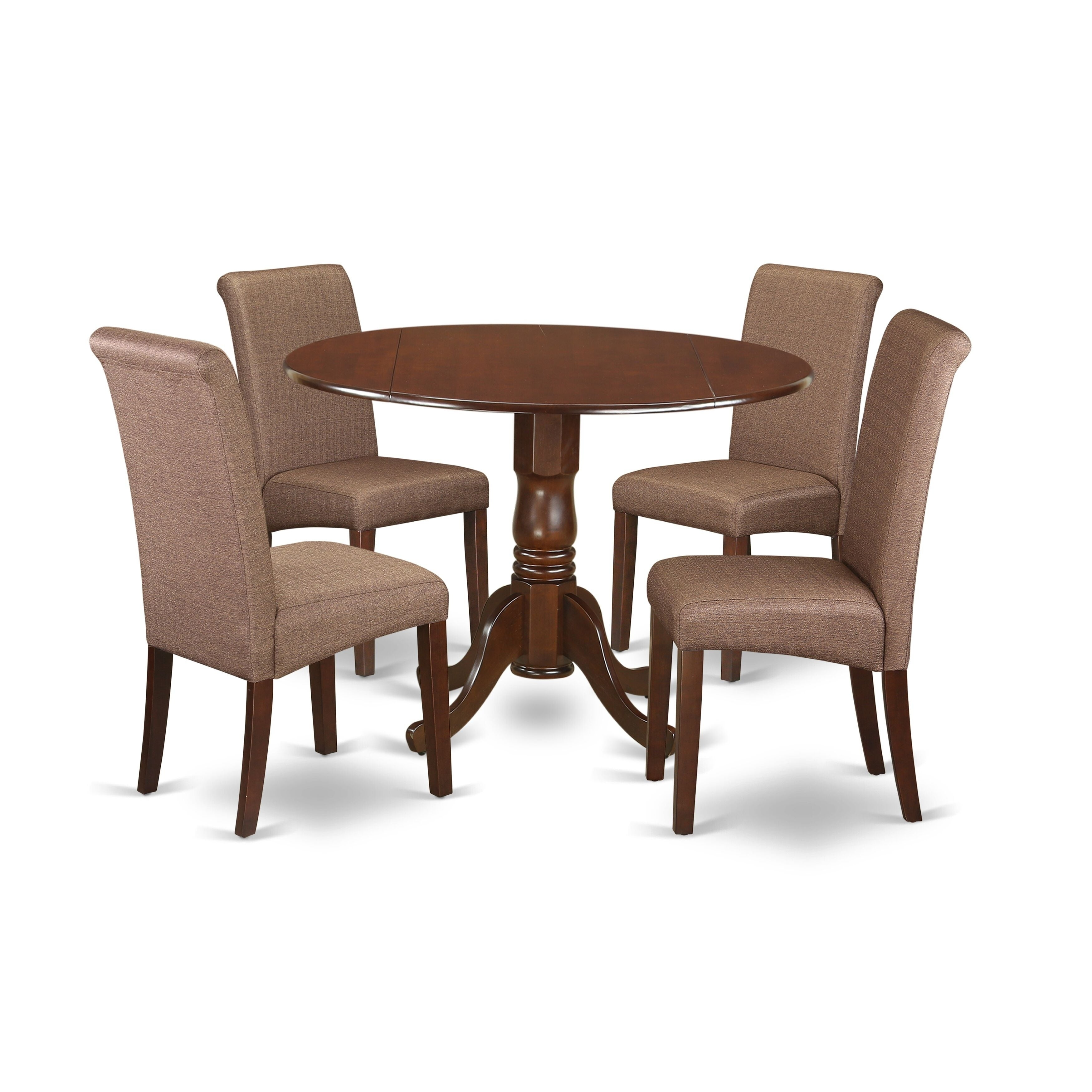 Shop 3pc Small Round Kitchen Table With Elegant Parson Chairs