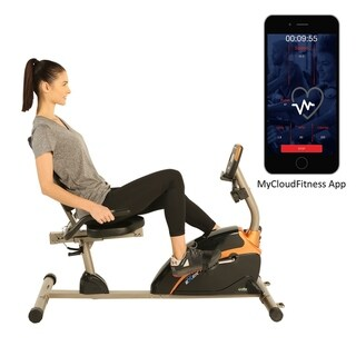 Link to EXERPEUTIC 1500XL High Capacity Recumbent Bike with Free App Similar Items in Cardio Equipment