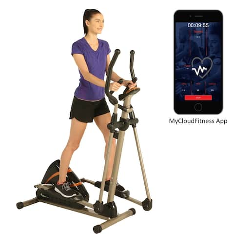 EXERPEUTIC 2000XL High Capacity Elliptical Trainer with Free App