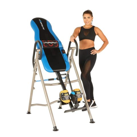EXERPEUTIC 275SL Heat and Massage Therapy Inversion Table
