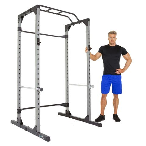 ProGear 1600 Ultra Strength 800lb Capacity Power Cage with J-Hooks