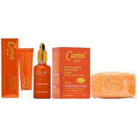 Carrot Glow 3-piece Soap Combo