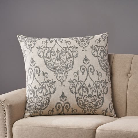 Ankeny Modern Fabric Throw Pillow by Christopher Knight Home