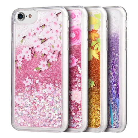 Sparkling Waterfall Beautiful Cellphone Case for iPhone 7 / 8 Plus Temper Glass