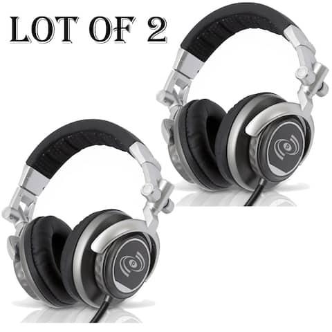 Lot of (2) Professional DJ Turbo Headphones