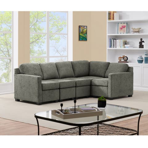 Handy Living Chi Town Sectional Sofa