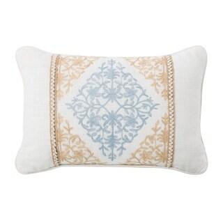 Porch & Den Korbel Embroidered Throw Pillow