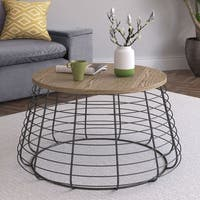 Truly Home Morris Coffee Table, Black