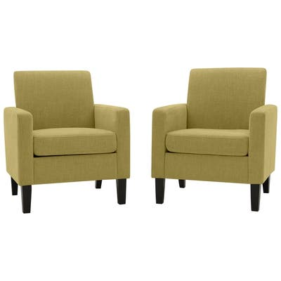 Yellow Living Room Chairs | Shop Online at Overstock