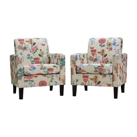 Buy Pink, Floral Living Room Chairs Online at Overstock | Our Best ...