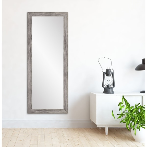 Farmhouse Living Floor Mirror - 26 x 71