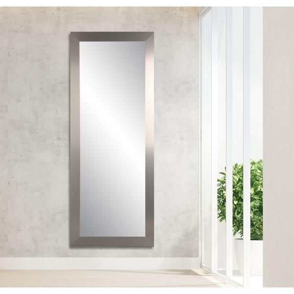 Ultra Modern Floor Mirror - 25.5 x 70.5
