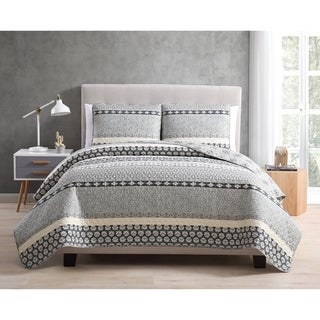 Link to Asher Home Natasha 3-piece Quilt Set Similar Items in Bedspreads