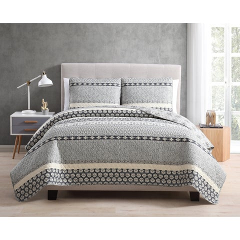 Asher Home Natasha 3-piece Quilt Set