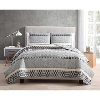 Asher Home Natasha 3-piece Quilt Set