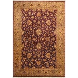 Handmade One-of-a-Kind Mahal Wool Rug (India) - 9'9 x 14'1